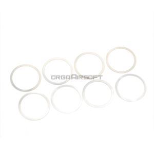 LAYLAX バレルナット調整用シムリング 0.3mm|orga-airsoft