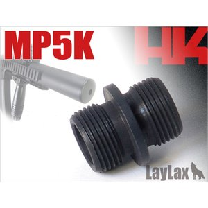LAYLAX サイレンサーアタッチメント MP5K・PDW|orga-airsoft