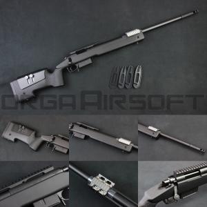 東京マルイ M40A5 ボルトアクションライフル - ブラックストック - orga-airsoft