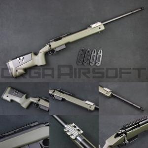 東京マルイ M40A5 ボルトアクションライフル - O.D.ストック - orga-airsoft