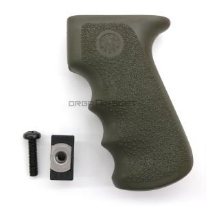 実物 HOGUE MONOグリップ AK47/AK74 ガスブロ用 OD|orga-airsoft