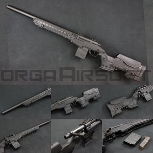 ACTION ARMY T10(Tactical10) スナイパーライフル BK 【AAC T10】|orga-airsoft