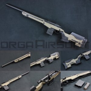 ACTION ARMY T10(Tactical10) スナイパーライフル FDE【AAC T10】|orga-airsoft