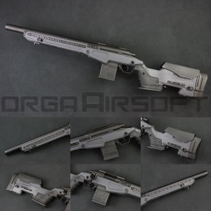 ACTION ARMY T10(Tactical10) S スナイパーライフル GRAY|orga-airsoft