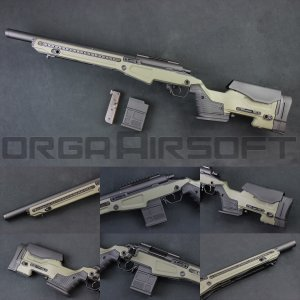 ACTION ARMY T10(Tactical10) S スナイパーライフル OD orga-airsoft