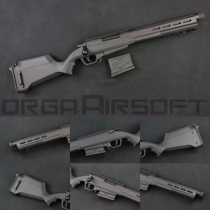ARES STRIKER AS-02 ボルトアクション スナイパーライフル BK|orga-airsoft