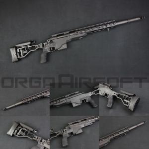 ARES M40A6 エアコッキング スナイパーライフル BK (MSR-025)|orga-airsoft