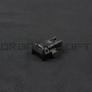 ARES Reinforced Nylon Fiber Flip-up フロントサイト BK 020|orga-airsoft