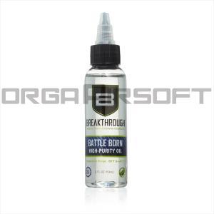 BREAKTHROUGH BATTLE BORN HP ガンオイル 潤滑用 - 60ml orga-airsoft