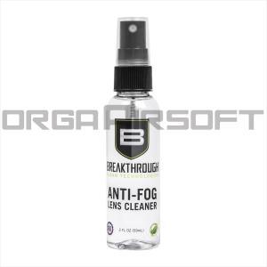 BREAKTHROUGH ミルスペック レンズクリーナー&曇り止め - 60ml|orga-airsoft