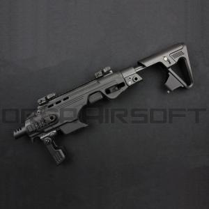 CAA Airsoft RONI ピストルカービン コンバージョンキット M9/M9A1用 BK|orga-airsoft