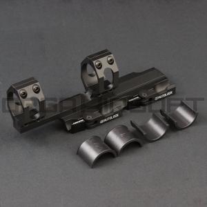 25/30mm QDオートロック オフセットライフルスコープマウント|orga-airsoft