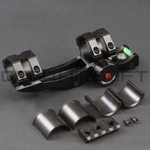 25/30mm アングルインジケーター付きライフルスコープマウント|orga-airsoft