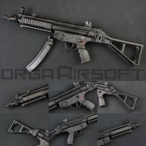 SRC SR5 TAC AU MP5 CO2ガスブロ(COB-408TM) MP5 CO2GBB orga-airsoft