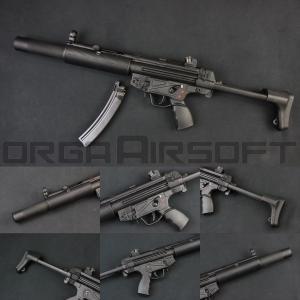 SRC SR5 SD3 MP5 CO2ガスブロ(COB-415TM) MP5 CO2GBB|orga-airsoft
