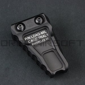DEFACTOR RAILSCALES ANCHORタイプ フォアグリップ 20mmレール BK|orga-airsoft