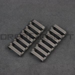 ERGO 7-slot ロープロファイルレールカバー BK|orga-airsoft