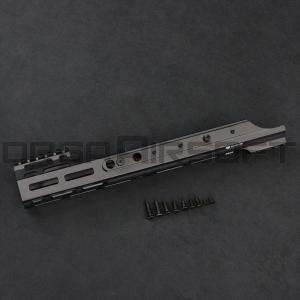 PTS Kinetic SCAR MREX M-LOK 4.9インチ Rail BK|orga-airsoft