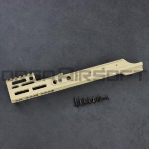 PTS Kinetic SCAR MREX M-LOK 4.9インチ Rail DE orga-airsoft