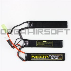 NEOX Lipo11.1v 15C/35C 950mAh ヌンチャク 電動ガン バッテリー|orga-airsoft