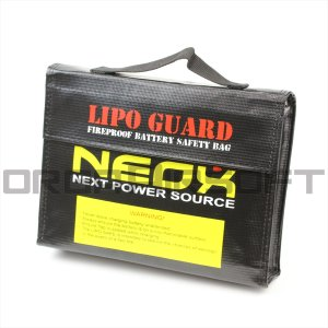 NEOX Lipoバッテリー用 バッグ|orga-airsoft
