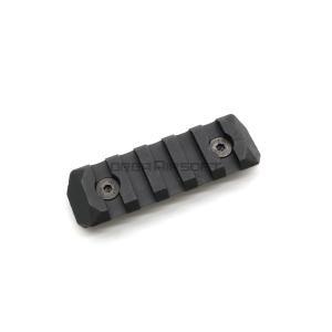 PTS ERS Keymod用 レールパネル BK - 5slots - orga-airsoft