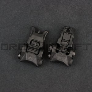 PTS EP BUIS(Back Up Iron Sight) セット BK|orga-airsoft