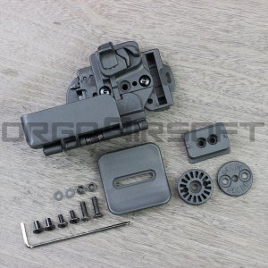 クアンタムメカニクス 3キャリークイック タクティカルホルスター G17/G22用|orga-airsoft