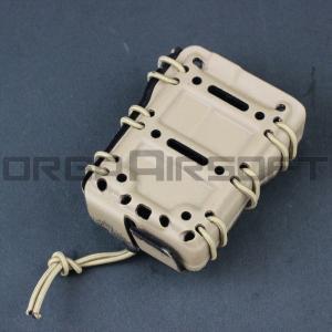 FMA G-CODE スコーピオンタイプ ライフルマグキャリア 5.56mm DE|orga-airsoft