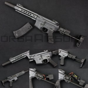 VFC VR16 SABER SD Urban Gray 電動ガン|orga-airsoft