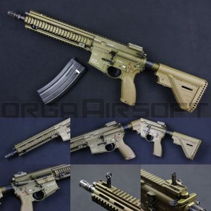 VFC/Umarex HK416A5 GBBR (ガスブローバック) TAN|orga-airsoft