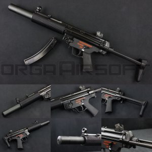 WE MP5SD3 GBB NPAS導入済み ガスブローバック|orga-airsoft