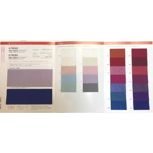 【色見本帳】FW302 silky-taffeta|organdie-net
