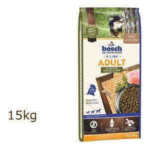 ボッシュ ハイプレミアム アダルト チキン&キビ 15kg ドッグフード bosch organic-eins