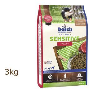 ボッシュ ハイプレミアム センシティブ ラム&ライス 3kg ドッグフード bosch (外袋なしでのお届けとなります)|organic-eins