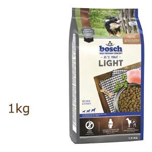 ボッシュ ハイプレミアム ライト 1kg ドッグフード bosch (外袋なしでのお届けとなります)|organic-eins
