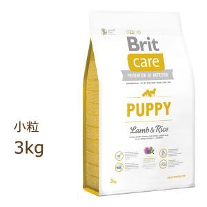ブリット ケア brit ラム&ライス パピー ドッグフード 3kg(1kg×3個で代用)|organic-eins