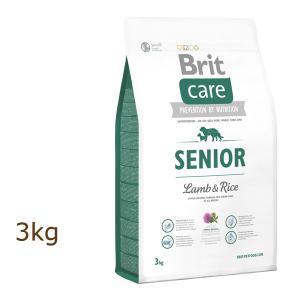 ブリット ケア brit ラム&ライス シニア ドッグフード 3kg(1kg×3個)|organic-eins