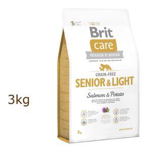 ブリット ケア brit グレインフリー シニア&ライト ドッグフード 3kg|organic-eins