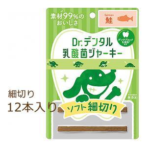 Dr.デンタル 乳酸菌ジャーキー 鮭 ソフト細切り 12本入り organic-eins