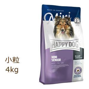 ハッピードッグ HAPPY DOG スプリーム ミニ シニア 4kg|organic-eins