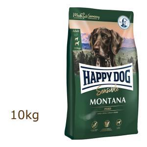 ハッピードッグ HAPPY DOG スプリーム センシブル モンタナ(馬肉) 10kg organic-eins