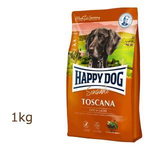 ハッピードッグ HAPPY DOG スプリーム センシブル トスカーナ(サーモン&ダック) 1kg|organic-eins