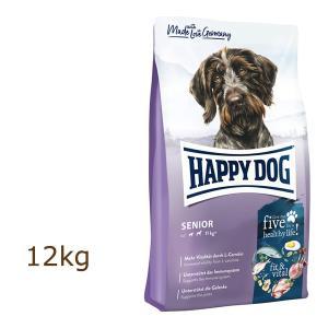 ハッピードッグ HAPPY DOG スプリーム フィット&バイタル シニア 12kg|organic-eins