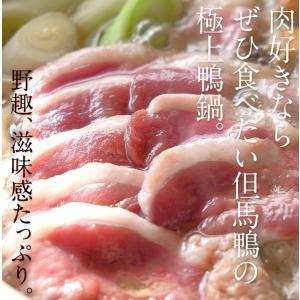 国産鴨肉 産直 かも鍋 送料無料 但馬鴨鍋セット(大)5〜6人前|organic-farm|02