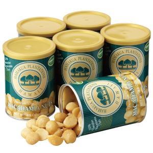 ハワイ ハマクア マカデミアナッツ 塩味 6缶 マカダミアナッツ 【世界のスイーツ同梱可能商品】 (rh)|organic