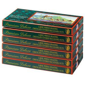ハワイ ラージマカデミア デラックス チョコレート 6箱 マカダミアナッツ 【世界のスイーツ同梱可能商品】 (rh)|organic