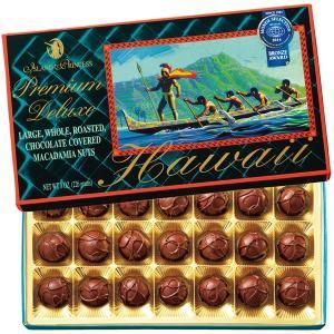 ハワイ ラージマカデミア デラックス チョコレート 1箱 マカダミアナッツ 【世界のスイーツ同梱可能商品】 (rh)|organic