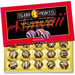 ハワイ アイランドプリンセスマカデミアナッツチョコレート 1箱 マカダミアナッツ 【世界のスイーツ同梱可能商品】 (rh)|organic
