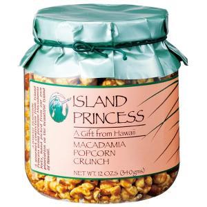 ハワイ アイランドプリンセスマカデミアナッツポップコーンクランチジャー マカダミアナッツ 【世界のスイーツ同梱可能商品】 (rh)|organic